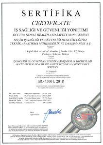 SEÇİM - İSO 45001 - 2020