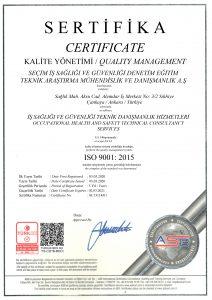 SEÇİM - İSO 9001 - 2020